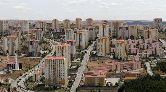 Kayseri'de nisan ayında 2 bin 91 konut satıldı