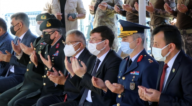 Kayseri Garnizon Şehitliği'nde anma töreni düzenlendi