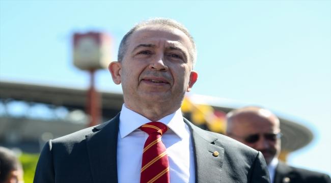 Metin Öztürk, Galatasaray Kulübü başkan adaylık dosyasını divan kuruluna verdi