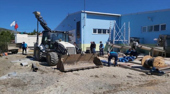 Müsilaj, Avşa'da denizden su arıtıp içme suyu yapan tesisin filtrelerini tıkadı