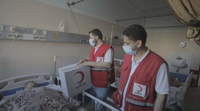 Türk Kızılayı, Filistinlilere yapılacak yardımlara ilişkin eylem planı hazırladı