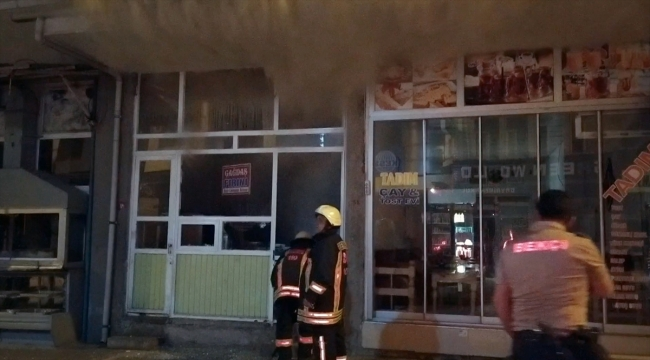 Adıyaman'da pide fırınında çıkan yangında 6 kişi dumandan etkilendi