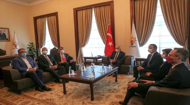 AK Parti Genel Başkanvekili Yıldırım, TÜSİAD heyetini kabul etti