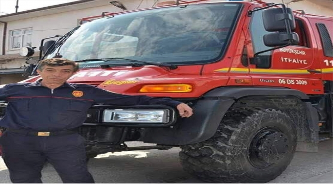 Ankara'da itfaiye aracının tarlaya devrilmesi sonucu ağır yaralanan itfaiye eri hayatını kaybetti