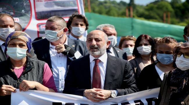 CHP Genel Başkan Yardımcısı Öztunç, Zonguldak'ta ziyaretlerde bulundu