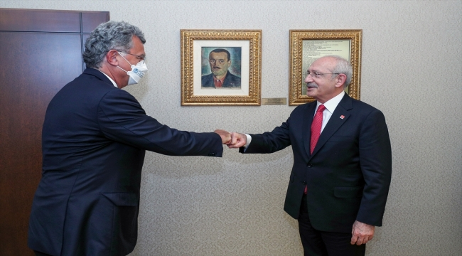 CHP Genel Başkanı Kılıçdaroğlu, TÜSİAD heyetini kabul etti