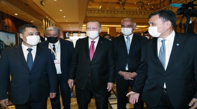 Cumhurbaşkanı Erdoğan, Cengiz Aytmatov Uluslararası 4. Issık-Göl Forumu'nda konuştu: