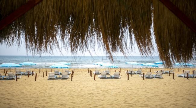 """""""Doğu Akdeniz'in incisi"""" Mersin'in plajları turizm sezonuna hazırlanıyor"""