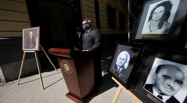 Ermeni terör örgütünün 43 yıl önce Madrid'deki saldırısında şehit edilenler anıldı