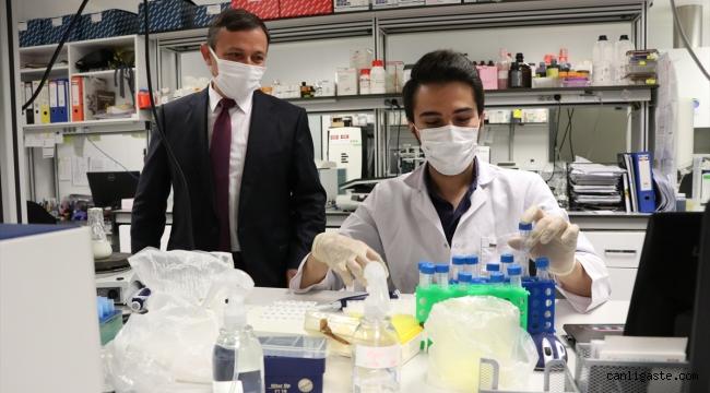 ERÜ Rektörü Çalış: TURKOVAC 3'üncü doza yetişecek