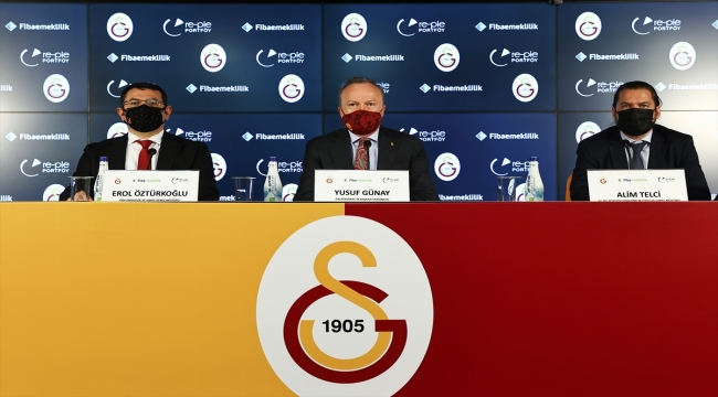 """""""Galatasaray Emeklilik Planı"""" tanıtıldı"""