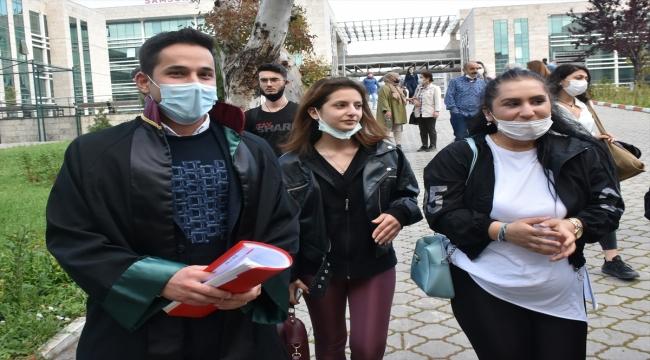 GÜNCELLEME - Samsun'da eski eşini darbeden sanığa 10 yıl 4 ay hapis cezası