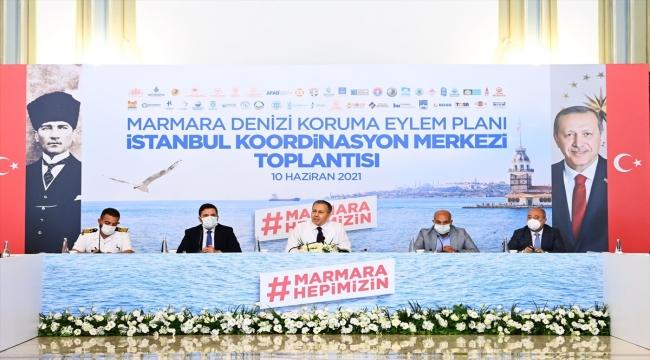 İstanbul Valiliğinde müsilajla mücadele toplantısı başladı