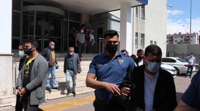 Kayseri'de 30 adrese eş zamanlı operasyon: 15 gözaltı