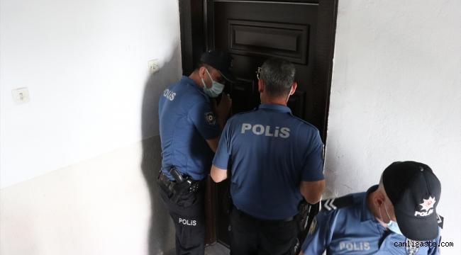 Kayseri'de gaz kaçağı için giden itfaiye evde yalnız olan 2 kardeşi kurtardı