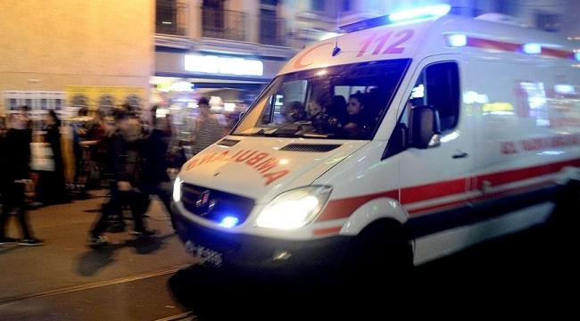 Kayseri'de otomobil ile servis otobüsü çarpıştı 7 kişi yaralandı