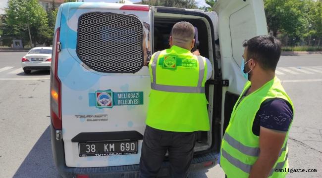 """Kayseri Melikgazi Belediyesinin """"Hayvan Ambulansı"""" bir hayat kurtardı"""