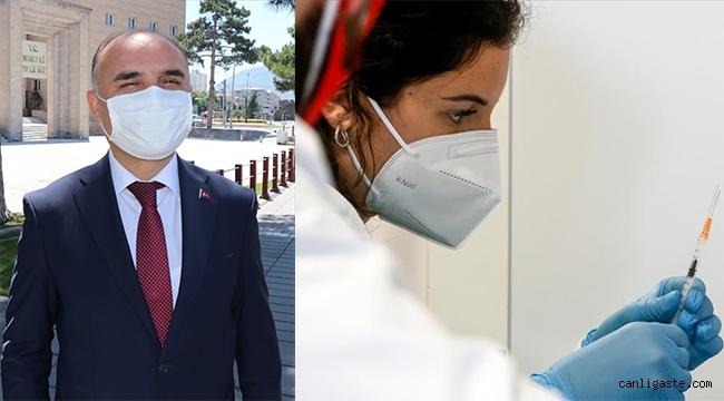 """Kayseri Valisi Şehmus Günaydın: """"Aşınızı olun"""""""