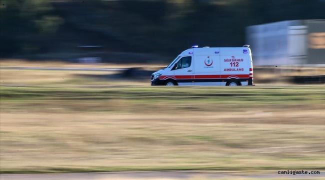 Kayseri Yeşilhisar'da trafik kazasında 5 kişi yaralandı