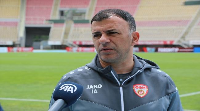 Kuzey Makedonya Milli Takımı Teknik Direktörü Angelovski'den Türk futboluna övgü: