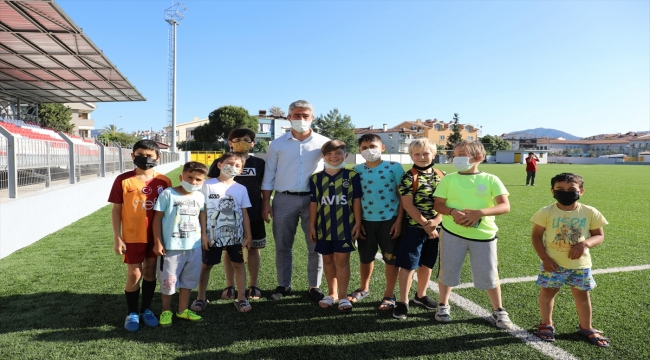 Marmaris Master Cup Futbol Turnuvası başladı