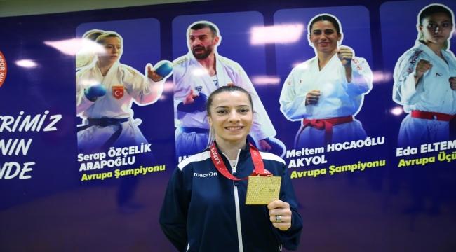 Milli karateci Serap Özçelik Arapoğlu, kariyerindeki tek eksiği tamamlamayı hedefliyor:
