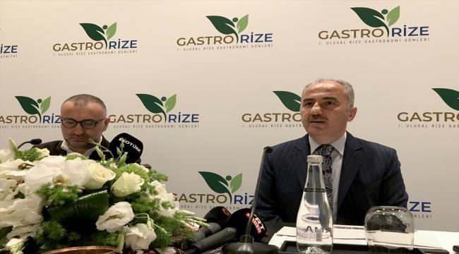 """Rize'nin yöresel lezzetleri """"GastroRize Festivali"""" ile tanıtılacak"""