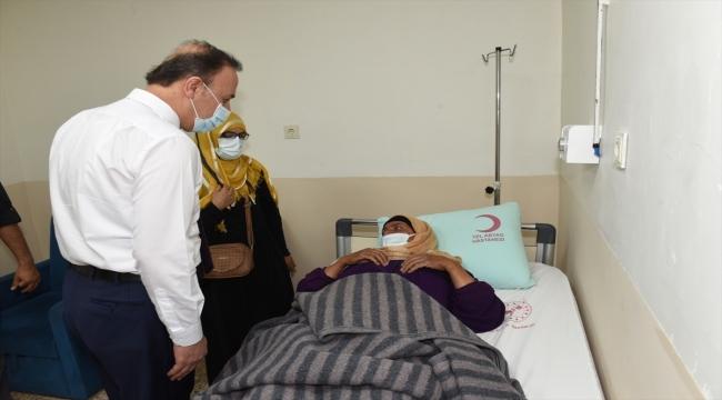 Şanlıurfa Valisi Abdullah Erin, Tel Abyad'da incelemelerde bulundu