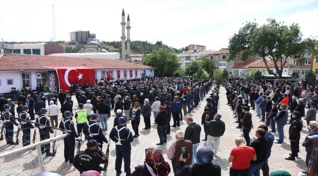 Şehit Jandarma Teğmen Baki Koçak, Yozgat'ta son yolculuğuna uğurlandı