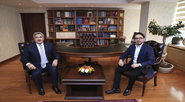 TBMM Dijital Mecralar Komisyonu Başkanı Yayman'dan AA Genel Müdürü Karagöz'e ziyaret