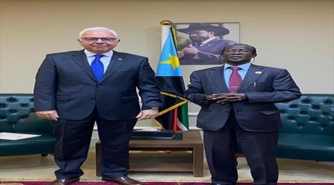 Türkiye'nin Cuba Büyükelçisi Mutaf, Güney Sudan Cumhurbaşkanı Yardımcısı Igga ile görüştü