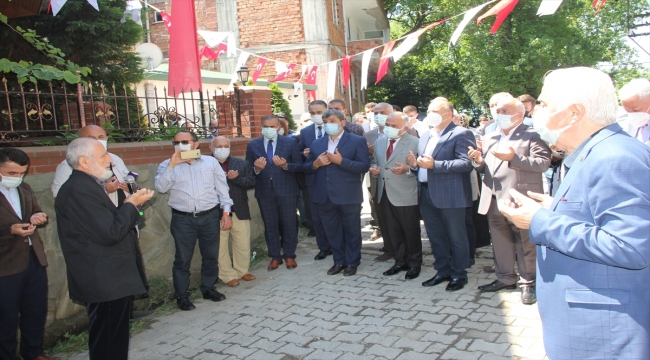 Ünye'de Yusuf Bahri Efendi ve haziresinde bulunan kabirlerin restorasyonu tamamlandı