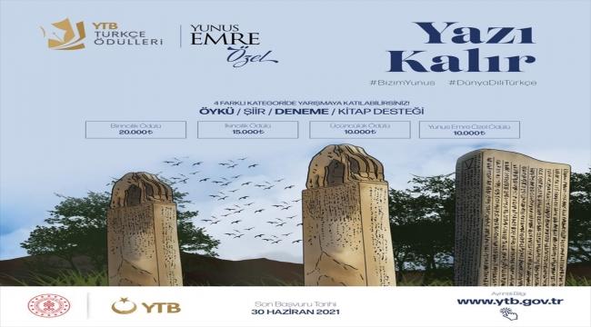 """YTB Türkçe Ödülleri, vefatının 700. yılı dolayısıyla """"Yunus Emre Özel"""" ismiyle düzenlenecek"""