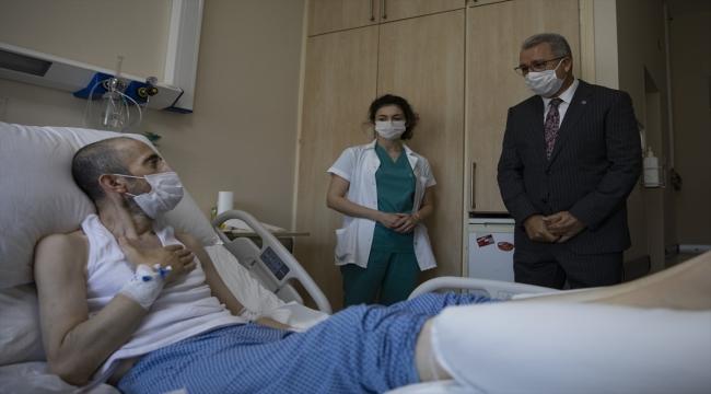 """Almakta zorlandığı """"nefes""""i kızına isim olarak veren İzmirli hasta, akciğer nakliyle sağlığına kavuştu"""