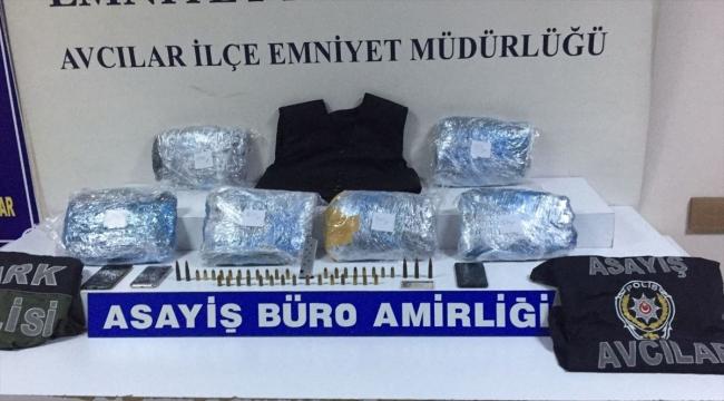 Avcılar'da uyuşturucu operasyonunda yakalanan 2 şüpheli tutuklandı