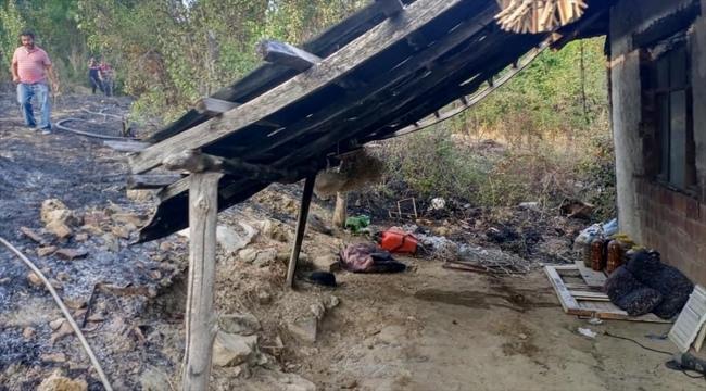 Burdur'da çıkan orman yangını kontrol altına alındı