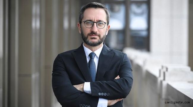 Fahrettin Altun: Bazı medya kuruluşlarına yabancı ülkelerden fon sağlanıyor