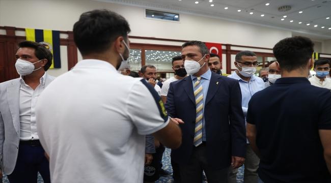 Fenerbahçe Kulübünün bayramlaşma töreni yapıldı
