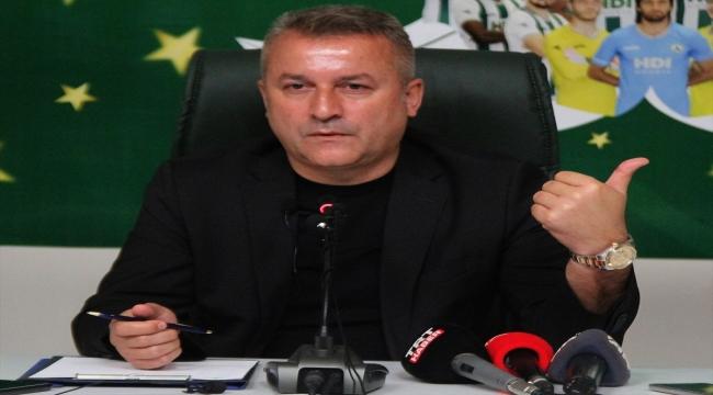 """Giresunspor Başkanı Karaahmet: """"Zamanı en doğru şekilde kullanarak transferleri gerçekleştirmeyi hedefliyoruz"""""""