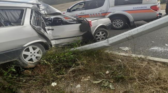 Karabük'te üç ayrı trafik kazasında 8 kişi yaralı