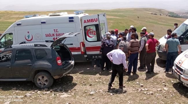 Kars'ta kestiği ağacın altında kalan kişi öldü