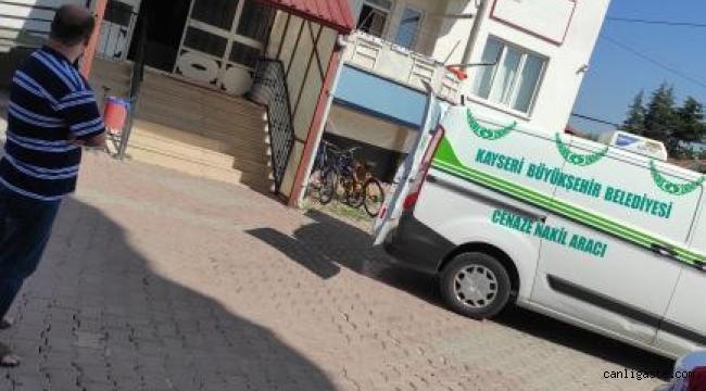 Kayseri Argıncık Mahallesinde intihar