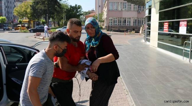 """Kayseri'de """"acemi kasaplar"""" hastanelik oldu!"""