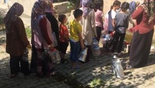 Kayseri'de yaşanan su krizinde yeni boyut: Güyümler ortaya çıktı sıralar uzadı