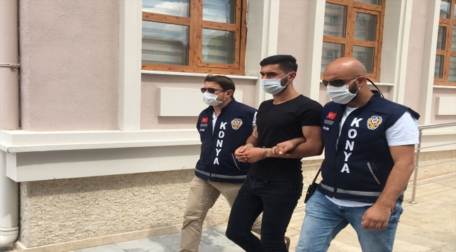 Konya'da yumrukladığı akrabası 22 gün sonra hayatını kaybedince şüpheli yeniden gözaltına alındı