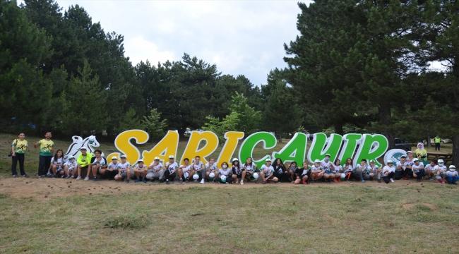 Manisa'da 6 gün sürecek oryantiring gençlik kampı başladı