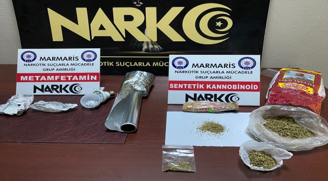 Muğla'da otomobilde uyuşturucuyla yakalanan 2 şüpheli tutuklandı