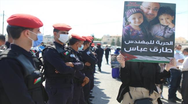 Ürdün'de, Suudi Arabistan'da gözaltındaki Filistinli ve Ürdünlülerin serbest bırakılması talebiyle gösteri