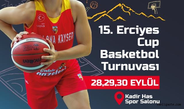 Kayseri'de 15. Erciyes Kupası heyecanı yaşanacak