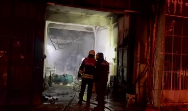 Kayseri'de oto tamircideki patlamada 11 yaşındaki çocuk hayatını kaybetti
